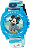 Disney Boy's Quartz Plastic Casual Watch, Color:Blue (Model: MK1328)