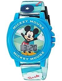 Disney MK1328 - Reloj digital de plástico para niño, azul -