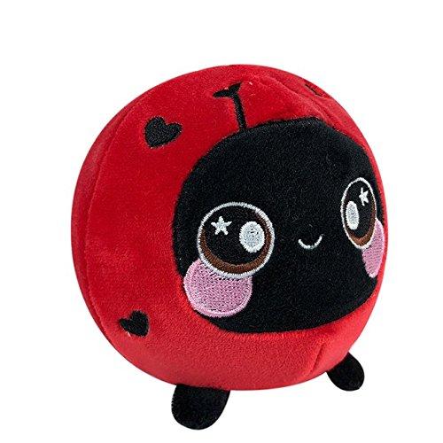 Ladybug Bear - Squishamals - 3.5