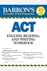 Barron's ACT English, Reading, and Writing Workbook (Barron's: The Leader in Test Preparation) Paperback