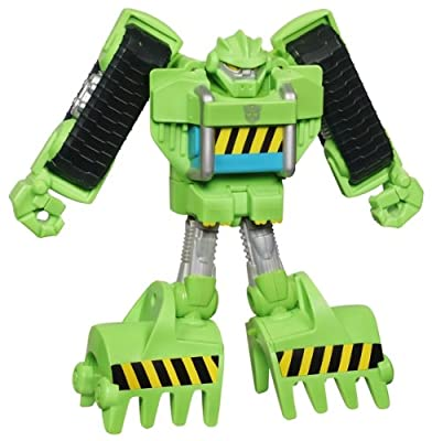 Transformers Rescue Bot - Boulder The Construction Bot from Transformers