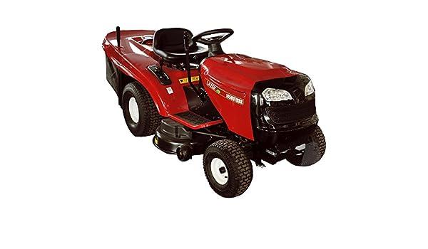 Lazer 1297RB - Tractor cortacésped de expulsión trasera, B&S Powerbuilt de 344 cc, corte a 97 cm, 6 marchas hacia adelante y 1 marcha atrás: Amazon.es: ...
