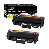 EBY Compatible Toner Cartridge Replacement for Samsung MLT-D116L 116L Work with SL-M2885FW SL-M2835DW SL-M2625D SL-M2675F SL-M2825DW SL-M2875FD M2875FW (Black, 2-Pack, High Yield)