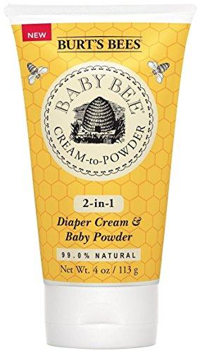 Burt's Bees Baby Bee Cream to Powder-4 Ounces