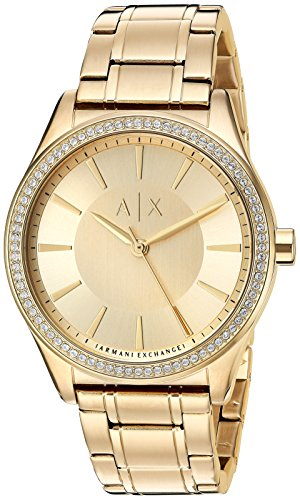 Armani Exchange Women's AX5441 Gold - Gold Armani