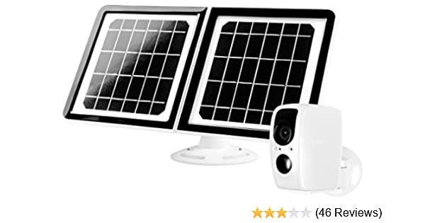 Lynx Solar Weatherproof Outdoor WiFi Surveillance Camera with Solar on
