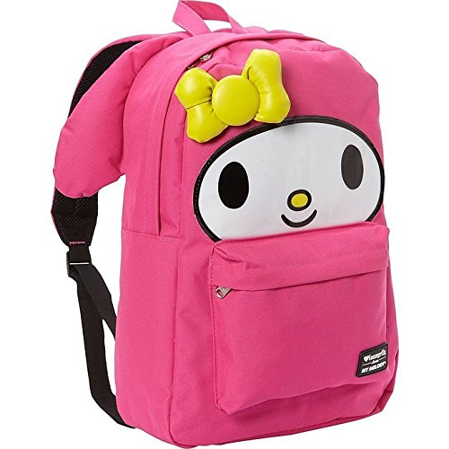 Loungefly My Melody Large Face Backpack (Pink)