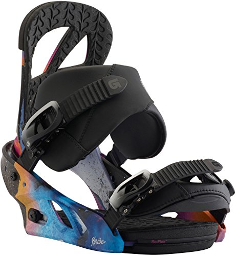 Burton Women's Scribe Re:Flex '18 Northern Lights Medium Balance Snowboard Bindings