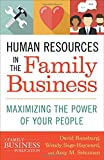 img - for Human Resources in the Family Business: Maximizing the Power of Your People (A Family Business Publication) book / textbook / text book