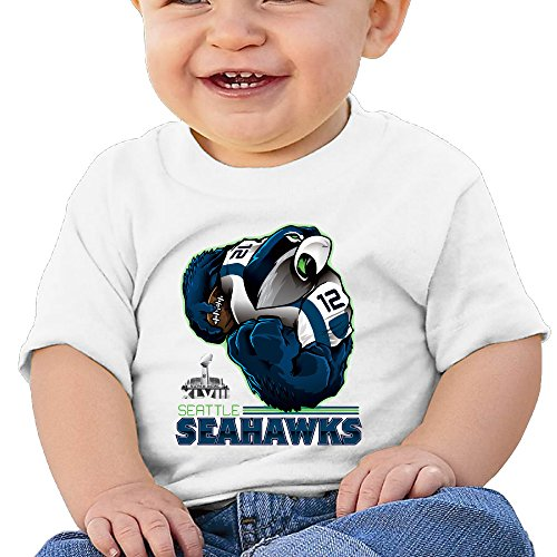 [Huma Seattle The Seahawks Newborn Tee White 24 Months] (Dracula Makeup)