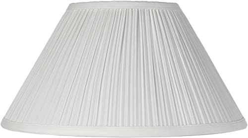 Mushroom Pleated Creme Lamp Shade 6x14x8 Spider – Brentwood