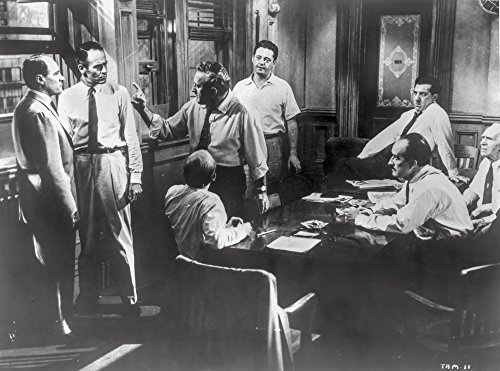 Twelve Angry Men Movie Scene in a Room with Men Arguing Photo Print (10 x 8)
