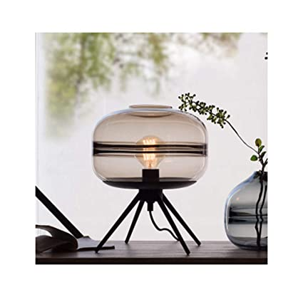 Amazon.com: PPWAN Desk LampLED American Simple Modern Warm ...