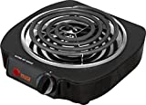 Cheap Compact Portable Single Electric Burner Camp Travel Food Cooker Cooking Cooktop