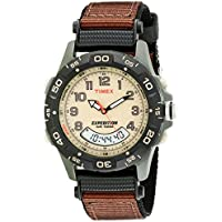 Timex Men's T45181 Expedition Resin Combo Brown Nylon Strap Watch