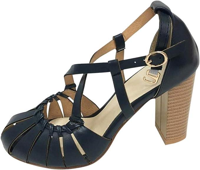 ღLILICATღ Zapatos de Baile Latino para Mujer Salsa Tango Moderna Bachata Vals Zapatos de Baile de Salón Suela Blanda Zapatos de Fiesta Ahuecados Tacón Alto: Amazon.es: Jardín
