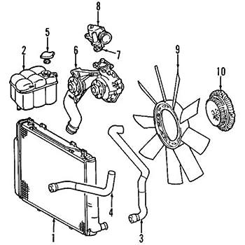 Amazon Com Mercedes Benz 113 203 02 75 Engine Coolant Thermostat