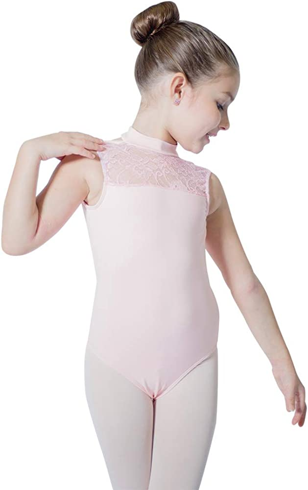 Children Dance Gear Printed Beth Sleeveless Leotard