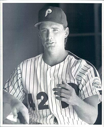 - Vintage Photos 1989 Press Photo MLB Philadelphia Phillies Pitcher Don Carman - rkf13307