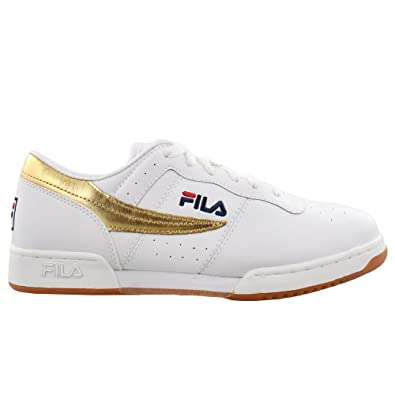 Fila Original Fitness Low White   Gold   RDS9UNCHC