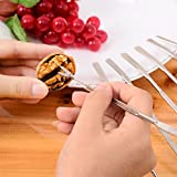 ❤Ywoow❤ , Multifunctional Stainless Iron Walnut Tool Crab Needle Fruit Fork Practical Olive Seafood Crab Lobster Fork Picks Handy Helper Nutcracker Needle