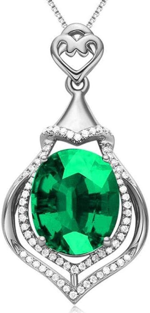 Piedras Preciosas Colgante Collar Moda Cristal Diamantes De Imitación Color Rojo Corazón Amor Cadena Collares para Mujeres Regalo De Compromiso De Boda