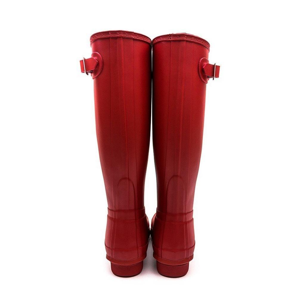 Hunter Women's Original Tall Wellington Boots, Red - 8 UK 42 EU 10 US by Hunter (Image #2)