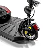 Pride Mobility - Go-Go LX with CTS Suspension - Travel Scooter - 3-Wheel with CTS Suspension - Red