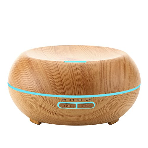 urpower 200ml aromatherapy essential oil diffuser with color import it all. Black Bedroom Furniture Sets. Home Design Ideas