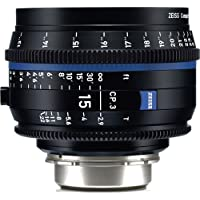 Zeiss 15mm T2.9 CP.3 Compact Prime Cine Lens (Feet) with PL Bayonet Mount