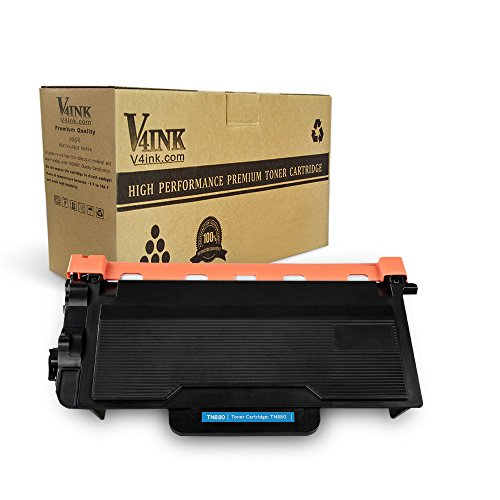 v4ink New Compatible Toner Cartridge Replacement for Brother TN880 TN 880 to use with HLL6200DW HLL6200DWT MFCL6700DW HLL6250DW HLL6300DW HLL6400DW HLL6400DWT MFCL6750DW L6800DW L6900DW Printer 1 Pack