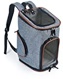 Pawfect Pets Soft-Sided Pet Carrier Backpack for Small Dogs and Cats by Airline-Approved, Designed for Travel, Hiking, Walking & Outdoor Use