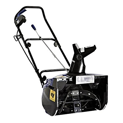 Snow Joe SJ621-RM Electric Single Stage Snow Thrower 18-Inch 13.5 Amp Motor Headlights Renewed