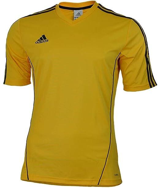 adidas Camiseta Estro 12 Amarilla-Negra Talla S: Amazon.es: Ropa y accesorios