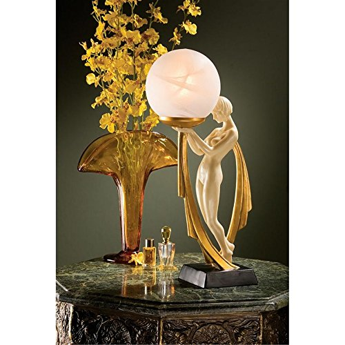 Design Toscano The Desiree Art Deco Lighted ()