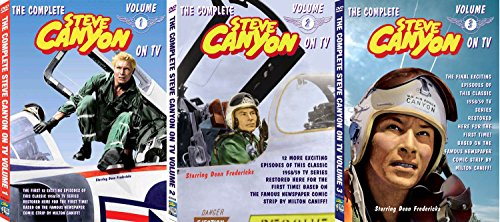 The Steve Canyon TV Collection 3 Volume Complete DVD Set (Best Real Estate Ads Ever)