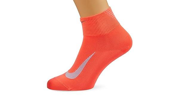Nike U Nk ELT LTWT Qt Calcetines, Hombre, Naranja (Hot Punch/Still ...