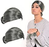 Old-Lady-Wig-Costume-Old-Lady-Wig-Grandmother-Wig-Gray-Wig-Mrs-Santa-Wig-Costume-Accessories-2-PCS
