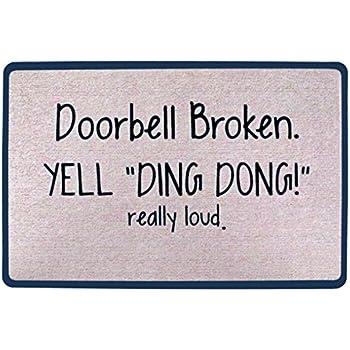 Amazoncom Signals Doorbell Broken Yell Ding Dong Really Loud