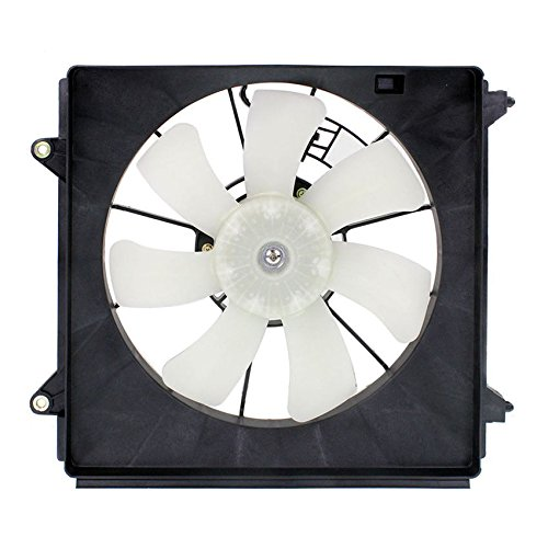 (A/C Condenser Fan Assembly - Cooling Direct Fit/For 38616R40A02 08-12 Honda Accord Sedan/Coupe 4 Cylinder Toyo/Tokai-Design Only)