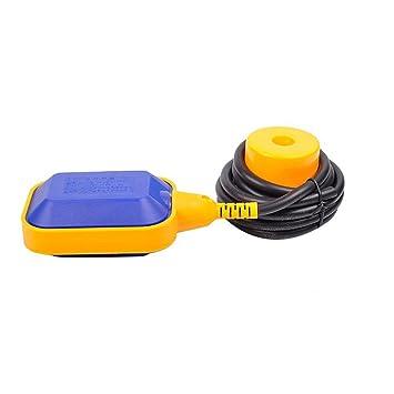 Desconocido ELECALL EM15-2 - Interruptor de Flotador de Nivel de Agua Líquido con Interruptor de Flotador: Amazon.es: Electrónica