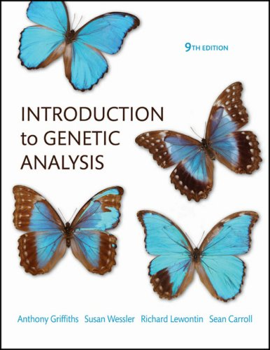 Introduction to Genetic Analysis, 9th Edition (Best Genetics Textbook For Medical Students)