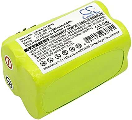 Batería de 2000 mAh para Makita 6722D, 6722DW, 6723DW