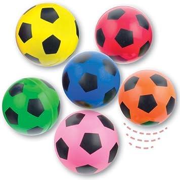 Baker Ross Pelotas de goma con diseño de balón de fútbol para ...