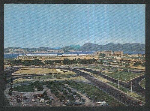 (Rio de Janeiro Brazil Students Cross & Santos Dumont Airport postcard 1970s)