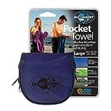 Sea to Summit Pocket Towel,Cobalt Blue,Large