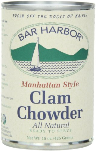 Bar Harbor Chowder, Manhattan Clam, 15 Ounce (Pack of 6)