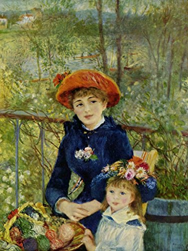 (Lais Jigsaw Pierre-Auguste Renoir - On The Terrace 100 Pieces)