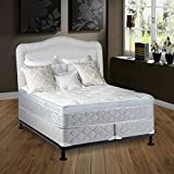 Continental Sleep Mattress, 10'' Plush  Pillowtop Eurotop , Fully Assembled Othopedic Twin Mattress and 8-Inch Split Box Spring,Luxury Collection