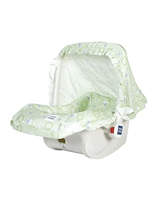 Charmant Mee Mee 5 In 1 Baby Cozy Carry Cot Cum Rocker (Green)